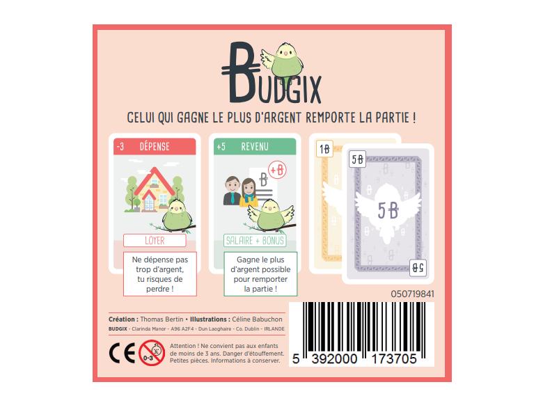 Budgix - Jeu de cartes / Jeu de société